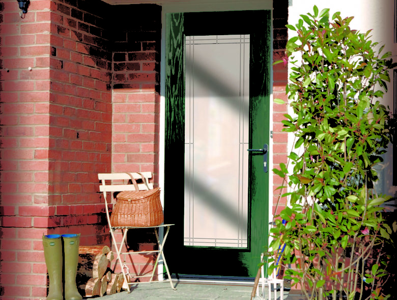 Who Said Composite Doors Are Only For The Front Of A House?